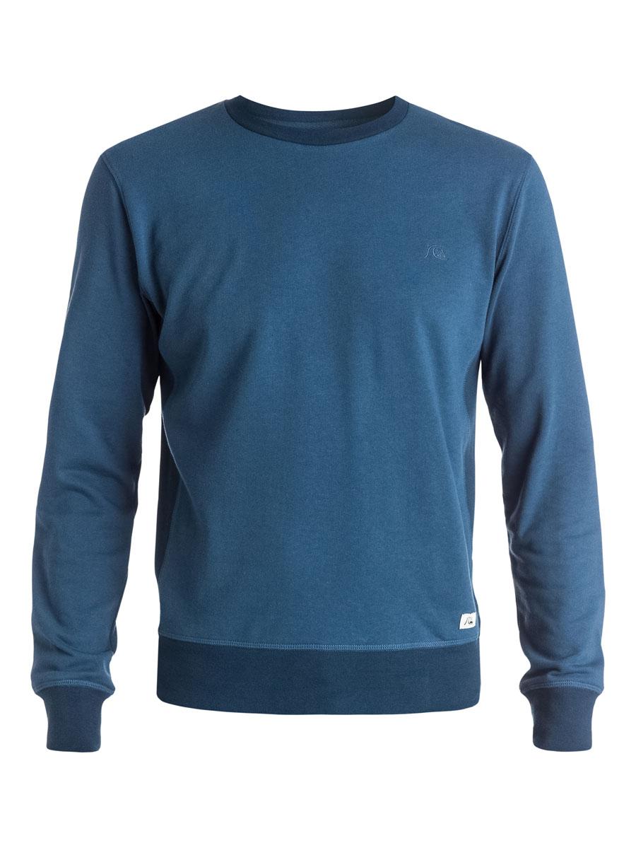 Свитшот мужской Quiksilver, цвет: синий. EQYFT03288-BRQ0. Размер M (46/48)
