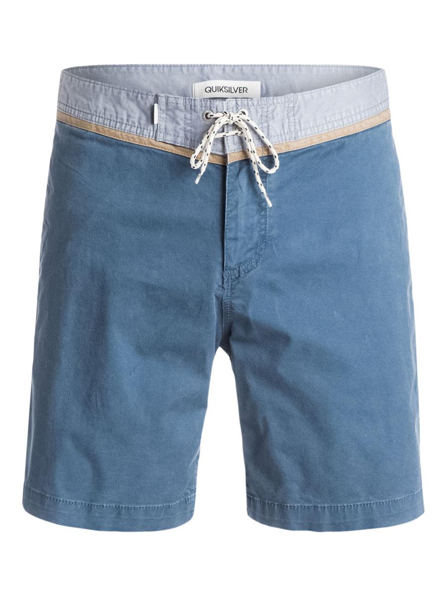 Шорты мужские Quiksilver, цвет: синий. EQYWS03174-BRQ0. Размер 30 (46)