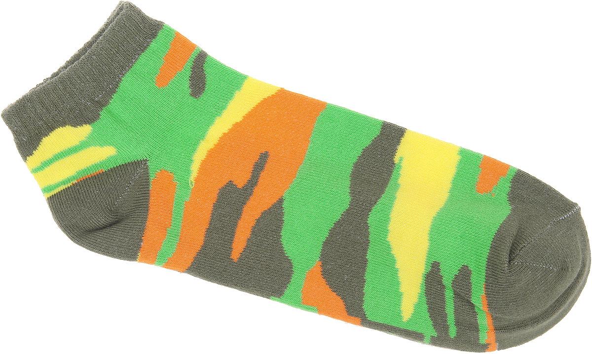 Носки женские Alla Buone, цвет: хаки. CD028. Размер 25 (38-40)CD028Удобные носки Alla Buone, изготовленные из высококачественного комбинированного материала, очень мягкие и приятные на ощупь, позволяют коже дышать. Эластичная резинка плотно облегает ногу, не сдавливая ее, обеспечивая комфорт и удобство. Модель с укороченным паголенком, оформлена рисунком в стиле милитари. Практичные и комфортные носки великолепно подойдут к любой вашей обуви.