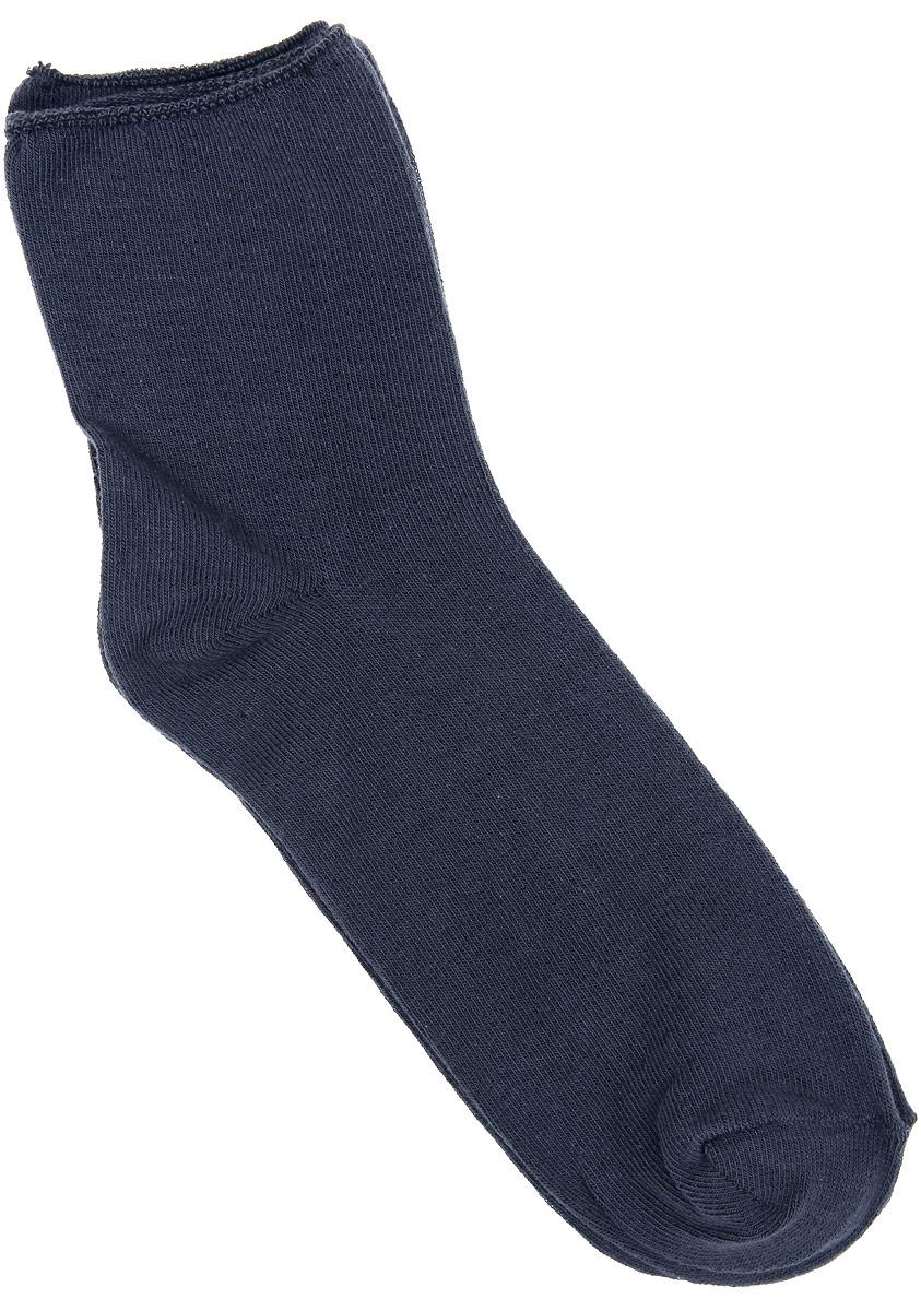 Носки женские Alla Buone, цвет: темно-серый. CD027. Размер 23 (35-37)027CDУдобные носки Alla Buone, изготовленные из хлопкового волокна, очень мягкие и приятные на ощупь, позволяют коже дышать. Резинка с компрессионным эффектом не сдавливает ногу, обеспечивая комфорт и удобство. Носки с паголенком классической длины. Практичные и комфортные носки великолепно подойдут к любой вашей обуви.