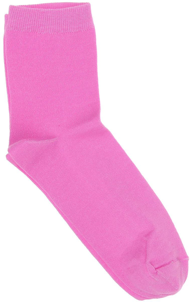 Носки женские Alla Buone, цвет: розовый. CD002. Размер 25 (38-40)002CDУдобные носки Alla Buone, изготовленные из высококачественного комбинированного материала, очень мягкие и приятные на ощупь, позволяют коже дышать. Эластичная резинка плотно облегает ногу, не сдавливая ее, обеспечивая комфорт и удобство. Носки с паголенком классической длины. Практичные и комфортные носки великолепно подойдут к любой вашей обуви.