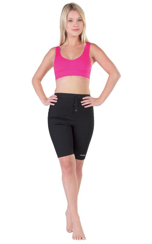Бриджи антицеллюлитные женские Lanaform CYCLISTE, цвет: черный. LA0103017E. Размер 7 (52) - Одежда