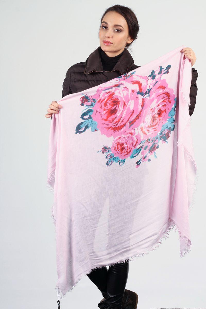 Платок женский Laura Milano, цвет: розовый. JLB10278YS4-2. Размер 120 см х 120 смJLB10278YS4-2Стильный женский платок Laura Milano станет великолепным завершением любого наряда. Платок изготовлен из высококачественного материала и оформлен крупным цветочным принтом.Мягкий и шелковистый платок поможет вам создать изысканный женственный образ, а также согреет в непогоду. Такой платок превосходно дополнит любой наряд и подчеркнет ваш неповторимый вкус и элегантность.