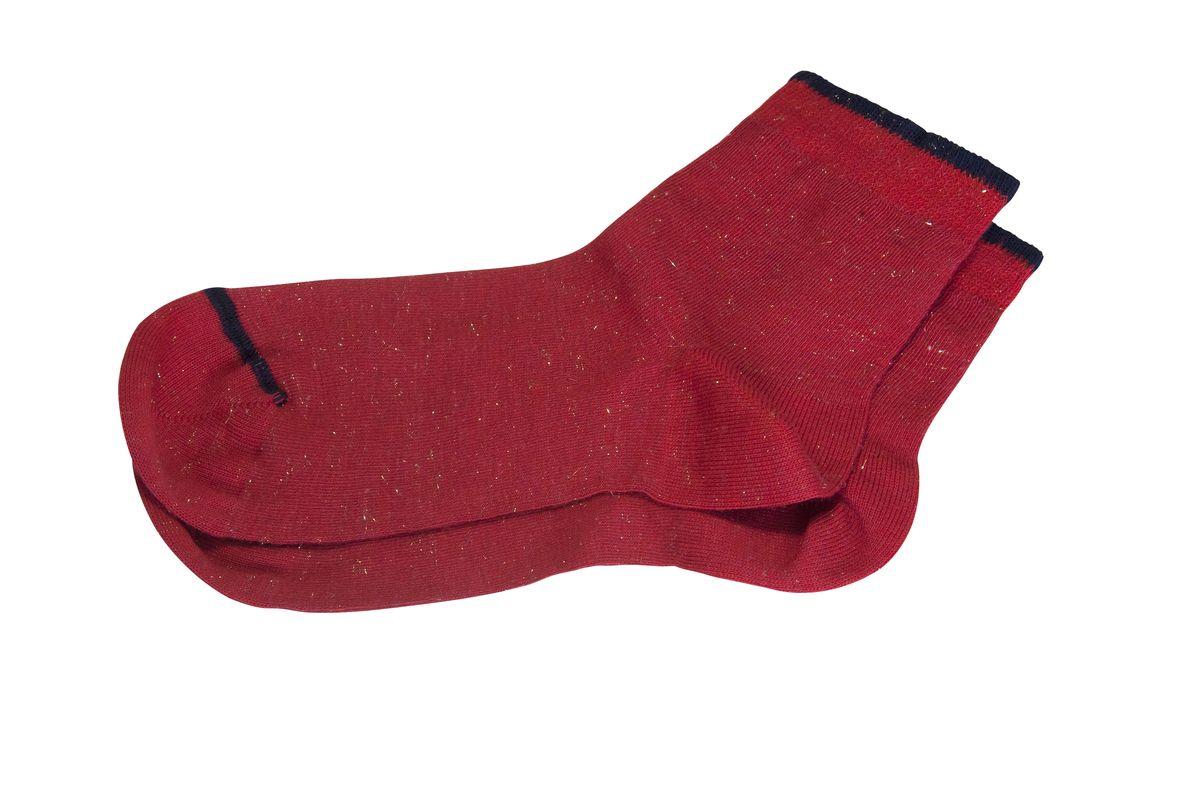 Носки женские Askomi Casual, цвет: красный. AG-2300. Размер 25 (39-41)AG-2300Женские носки Askomi Casual для повседневной носки выполнены из высококачественного материала. Яркая модель с люрексом и контрастной зашивкой мыска и резинки. Вискоза придает изделию мягкость и прохладу. Мысок и пятка укреплены, что значительно увеличивает износостойкость носков. Кеттельный шов не ощутим для ноги.
