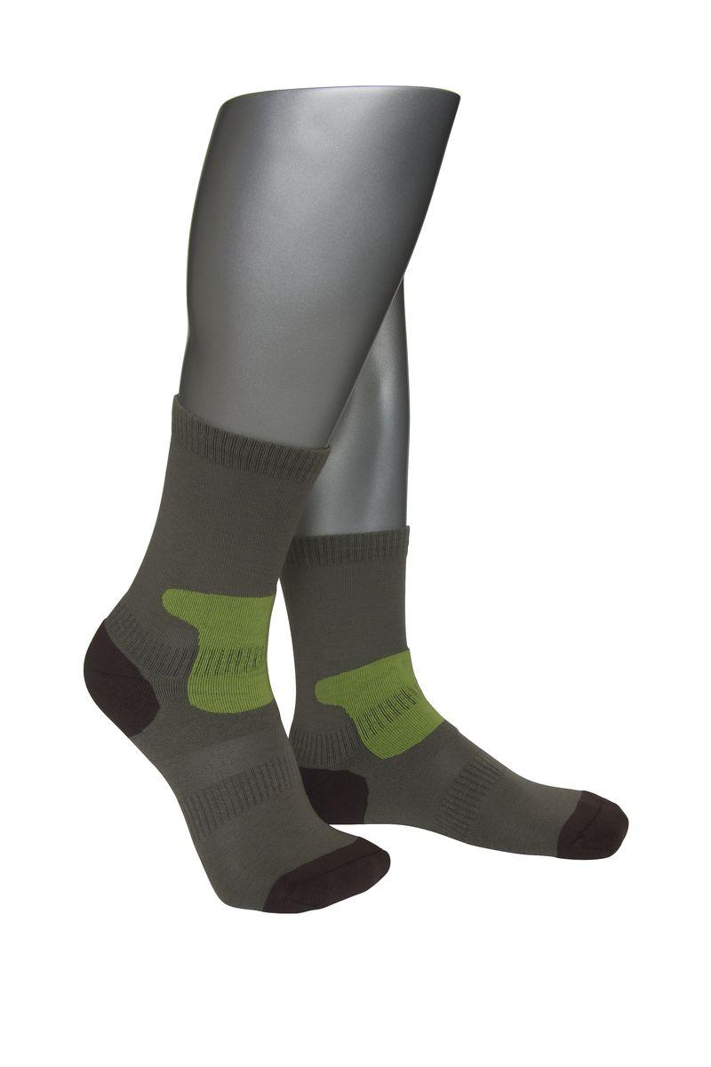 Носки мужские Askomi Sport, цвет: зеленый, коричневый. АМ-4010_1911. Размер 25 (39-40)АМ-4010_1911Мужские спортивные носки Askomi Sport выполнены из сочетания хлопка и функциональных волокон - поликолона и эластана. Имеются зоны дополнительной фиксации, препятствующие перекручиванию носка. Также дополнены усиленными плюшем зонами повышенных нагрузок.