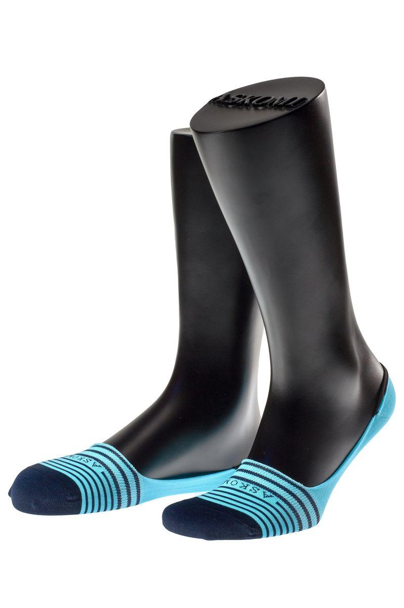 Подследники мужские Askomi Casual, цвет: голубой, темно-синий. АМ-5205_5401/2404. Размер 29 (43-44)АМ-5205_5401/2404Мужские подследники Askomi Casual для повседневной носки выполнены из мерсеризованного хлопка с добавлением полиамида и эластана - гладкого, приятного на ощупь материала. Специальная форма носка позволяет ему оставаться невидимым в обуви. Модель имеет неощутимый силиконовый суппорт, благодаря чему подследник плотно прилегает к ноге. Кеттельный шов не ощутим для ноги.