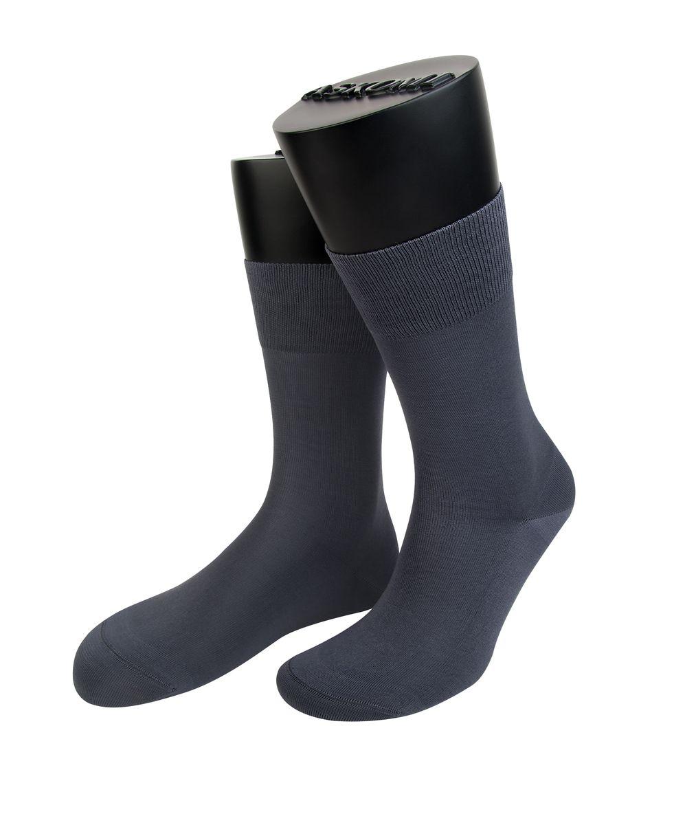 Носки мужские Askomi Classic, цвет: серый. АМ-7150_2304. Размер 27 (41-42)АМ-7150_2304Мужские носки Askomi Classic для повседневной носки выполнены из мерсеризованного хлопка Pima. Использована двойная плотная нить, благодаря чему носок приобретает эластичность без добавления синтетических нитей. Носок и пятка укреплены, что значительно увеличивает износостойкость носков. Двойной борт для плотной фиксации не пережимает сосуды. Кеттельный шов не ощутим для ноги.