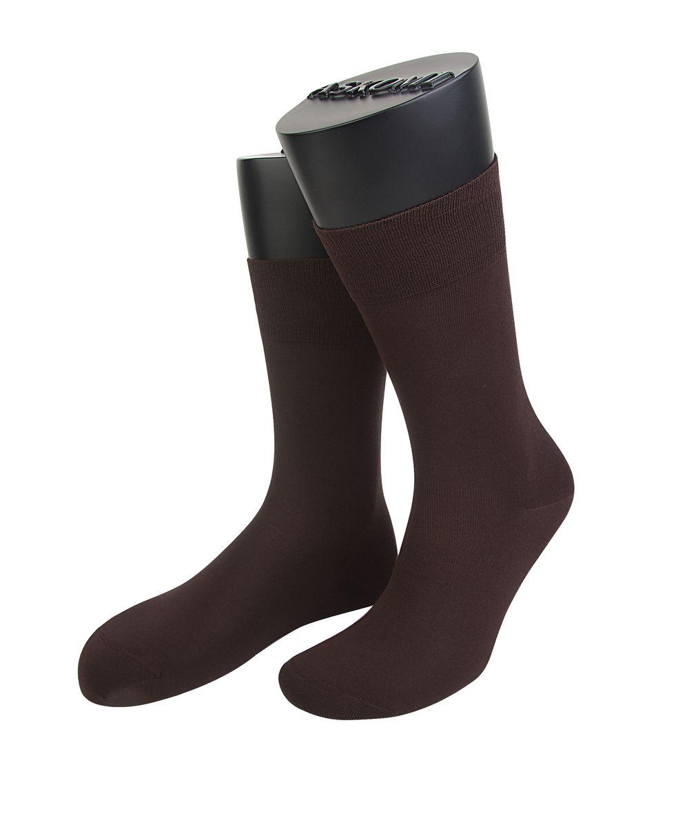 Носки мужские Askomi Classic, цвет: коричневый. АМ-7500_2201. Размер 29 (43-44)АМ-7500_2201Мужские носки Askomi Classic для повседневной носки выполнены из бамбука с добавлением полиамида. Бамбуковое волокно обладает высокой прочностью, антибактериальным и теплоизолирующим свойством. Двойной борт для плотной фиксации не пережимает сосуды. Носок и пятка укреплены, что значительно увеличивает износостойкость носков. Кеттельный шов не ощутим для ноги.