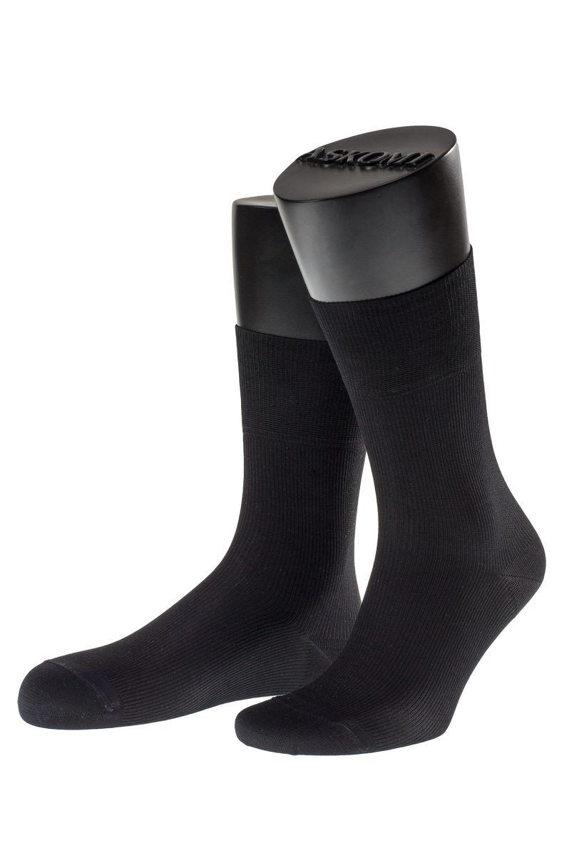 Носки мужские Askomi Casual, цвет: черный. АМ-7707_8101. Размер 27 (41-42)АМ-7707_8101Мужские носки Askomi Casual выполнены из мерсеризованного хлопка с добавлением полиамида. Двойной борт для плотной фиксации не пережимает сосуды. Укрепление мыска и пятки для идеальной прочности. Кеттельный шов не ощутим для ноги.