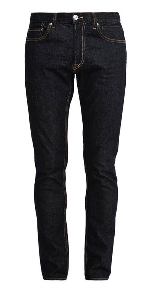 Джинсы мужские Quiksilver, цвет: темно-синий. EQYDP03170-BSNW. Размер 30-32 (46-32)