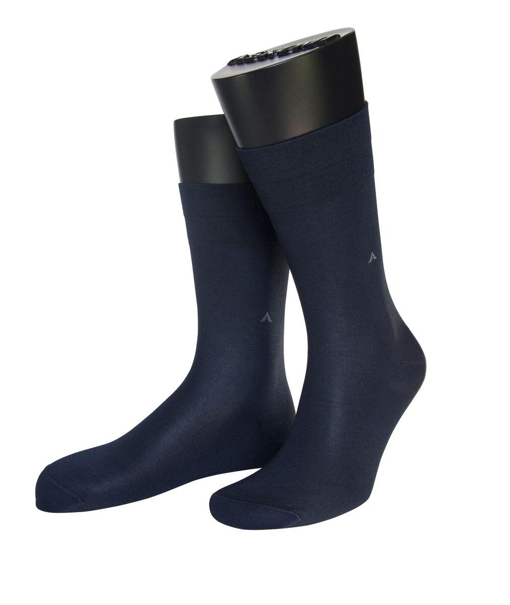 Носки мужские Askomi Econom, цвет: темно-синий. АМ-3400. Размер 27 (41-42)АМ-3400_2404Мужские носки Askomi Econom выполнены из хлопка с добавлением полиамида. Буква А на паголенке. Крупный ромб. Дополнены двойным бортом для плотной фиксации, не пережимающим сосуды. Укрепление мыска и пятки для идеальной прочности. Кеттельный шов не ощутим для ноги.