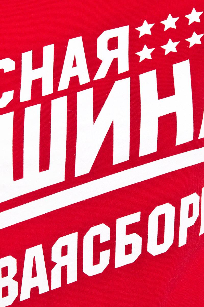 Футболка женская Красная Машина, цвет:  красный, белый.  65160051.  Размер L (48)