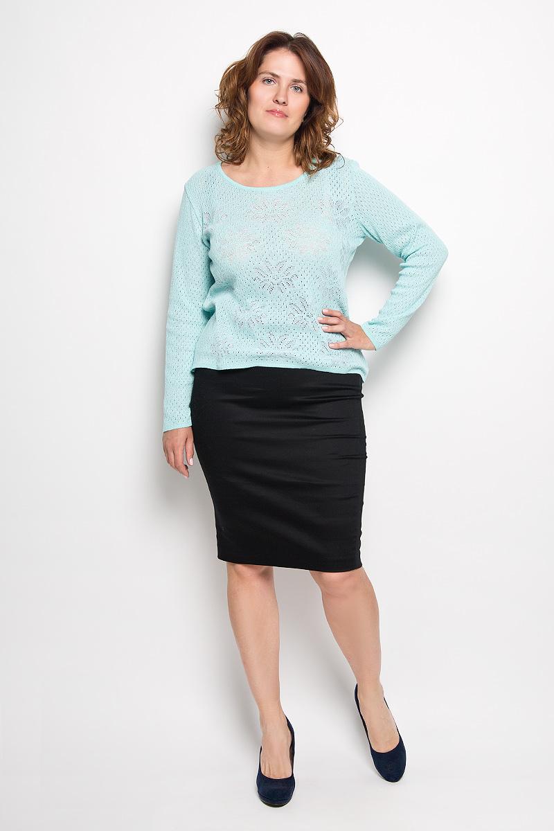 Юбка Milana Style, цвет: черный. 30316. Размер XL (50)30316Эффектная юбка-карандаш Milana Style выполнена из хлопка с добавлением полиэстера, она обеспечит вам комфорт и удобство при носке. Такой материал обладает высокой гигроскопичностью, великолепно пропускает воздух и не раздражает кожуОднотонная юбка-карандаш застегивается на застежку-молнию сбоку, на поясе имеются шлевки для ремня. Модная юбка выгодно освежит и разнообразит ваш гардероб. Создайте женственный образ и подчеркните свою яркую индивидуальность! Классический фасон и оригинальное оформление этой юбки позволят вам сочетать ее с любыми нарядами