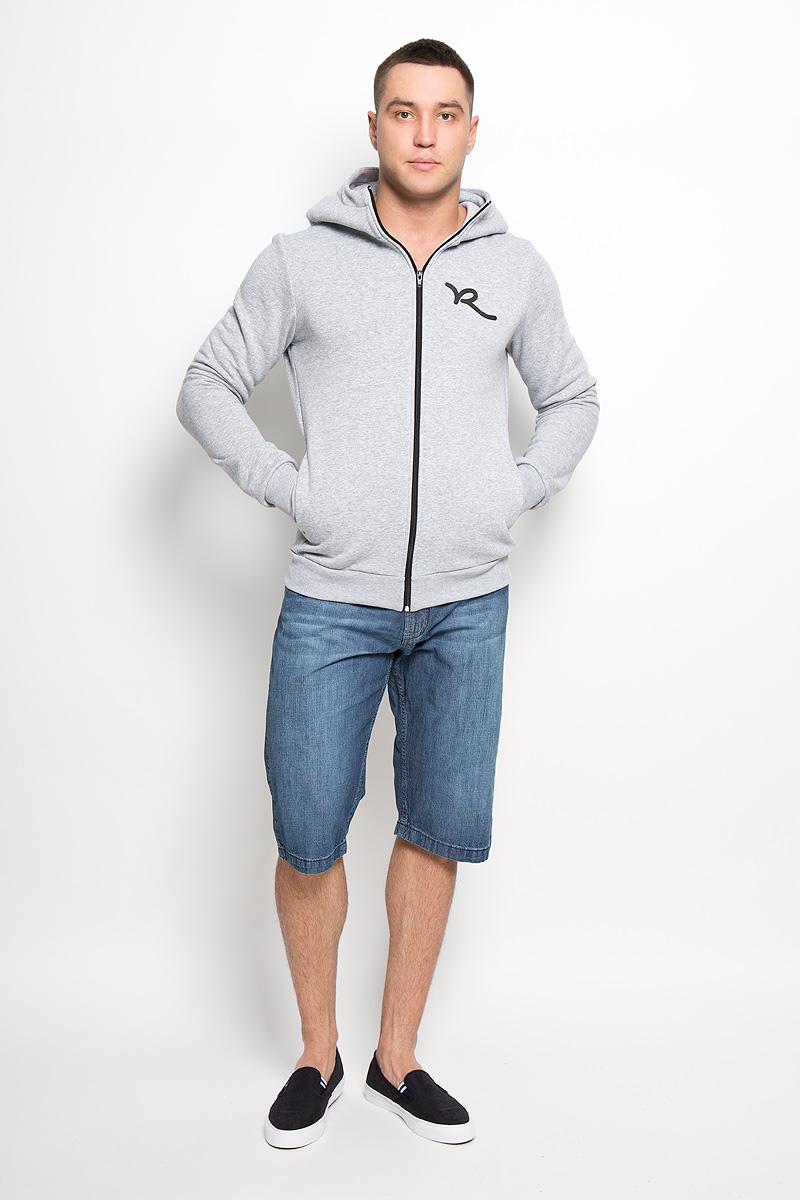 Шорты мужские F5, цвет: синий. 160154_08131. Размер 30 (46)160154_08131Стильные и практичные мужские шорты F5 великолепно подойдут для повседневной носки и помогут вам создать незабываемый современный образ. Классическая модель стандартной посадки изготовлена из натурального хлопка, благодаря чему великолепно пропускает воздух, обладает высокой гигроскопичностью и превосходно сидит. Шорты застегиваются на ширинку на застежке-молнии, а также пуговицу на поясе. На поясе расположены шлевки для ремня. Шорты имеют классический пятикарманный крой, они оснащены двумя втачными карманами и небольшим накладным кармашком спереди, и двумя втачными карманами сзади.Эти модные и в тоже время удобные шорты станут великолепным дополнением к вашему гардеробу. В них вы всегда будете чувствовать себя уверенно и комфортно.
