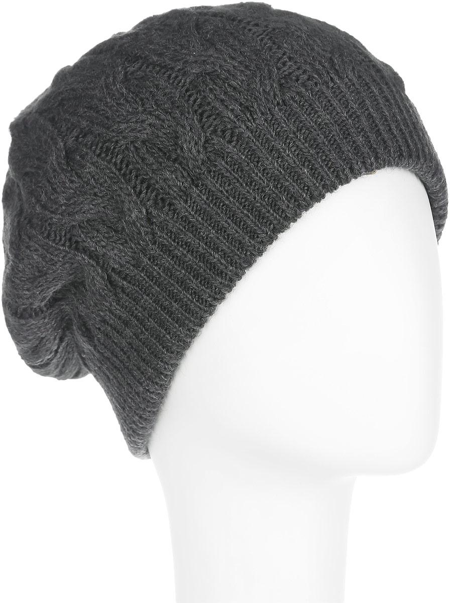 Шапка женская Flioraj, цвет: темно-серый. 7113S_44 GM. Размер М (57)7113S_44 GMСтильная женская шапка Flioraj с фактурной вязкой дополнит ваш образ в холодную погоду. Сочетание шерсти и акрила максимально сохраняет тепло и обеспечивает удобную посадку, невероятную легкость и мягкость. Привлекательная стильная шапка Canoe Amanda подчеркнет ваш неповторимый стиль и индивидуальность.