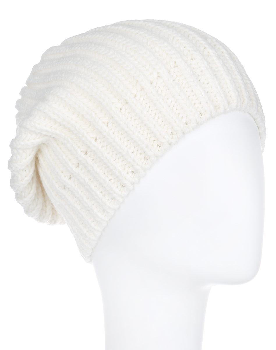 Шапка женская Flioraj, цвет: белый. 7114S-11. Размер М (57)7114S-11Стильная женская шапка Flioraj идеально подойдет для прогулок и занятия спортом в холодное время года. Шапка крупной вязки выполнена из высококачественной акриловой пряжи с добавлением шерсти, что обеспечивает не только высокую износостойкость и опрятный внешний вид, но и позволяет шапке надежно сохранять тепло. Низ шапки связан резинкой, что обеспечивает эластичность и удобную посадку.Такая шапка станет модным и стильным дополнением вашего зимнего гардероба. Она согреет вас в холодные зимние дни и позволит подчеркнуть свою индивидуальность!Уважаемые клиенты!Размер, доступный для заказа, является обхватом головы.