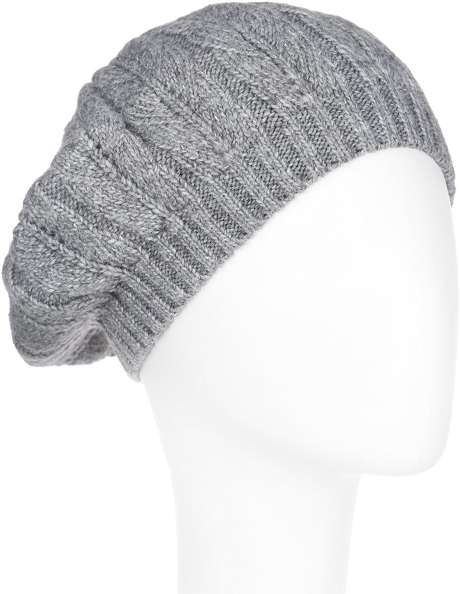 Шапка женская Flioraj, цвет: серый. 7-009-006м. Размер 587-009-006мСтильная женская шапка Flioraj отлично дополнит ваш образ в холодную погоду. Сочетание шерсти и акрила максимально сохраняет тепло и обеспечивает удобную посадку, невероятную легкость и мягкость. Шапка декорирована ненавязчивым вязанным узором. Привлекательная стильная шапка Flioraj подчеркнет ваш неповторимый стиль и индивидуальность. Уважаемые клиенты!Размер, доступный для заказа, является обхватом головы.