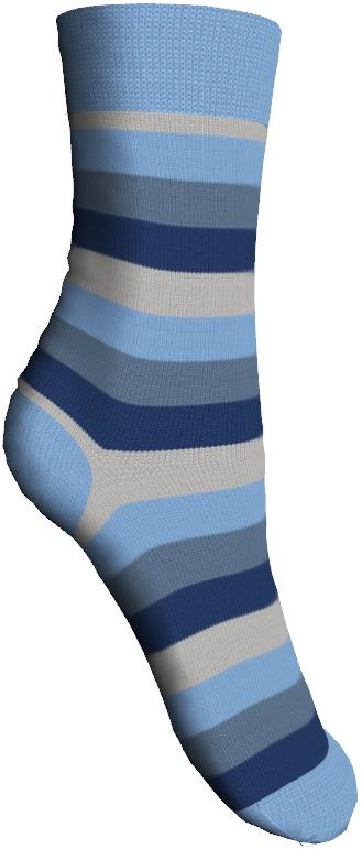 Носки детские Master Socks Sunny Kids, цвет: голубой. 82602. Размер 2282602Детские носки Master Socks Sunny Kids изготовлены из высококачественных материалов. Ткань очень мягкая и тактильно приятная. Содержание бамбука в составе обеспечивает высокую прочность, эластичность и воздухопроницаемость. Изделие хорошо стирается, длительное время сохраняет привлекательный внешний вид. Эластичная резинка мягко облегает ножку ребенка, обеспечивая удобство и комфорт. Модель оформлена принтом в полоску. Удобные и прочные носочки станут отличным дополнением к детскому гардеробу!Уважаемые клиенты!Размер, доступный для заказа, является длиной стопы.