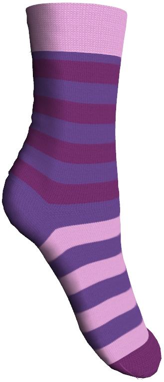 Носки детские Master Socks Sunny Kids, цвет: фиолетовый. 82602. Размер 1882602Детские носки Master Socks Sunny Kids изготовлены из высококачественных материалов. Ткань очень мягкая и тактильно приятная. Содержание бамбука в составе обеспечивает высокую прочность, эластичность и воздухопроницаемость. Изделие хорошо стирается, длительное время сохраняет привлекательный внешний вид. Эластичная резинка мягко облегает ножку ребенка, обеспечивая удобство и комфорт. Модель оформлена принтом в полоску. Удобные и прочные носочки станут отличным дополнением к детскому гардеробу!Уважаемые клиенты!Размер, доступный для заказа, является длиной стопы.