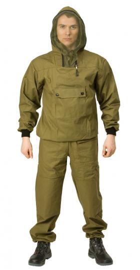 Костюм мужской Стоик Противоэнцефалитный, цвет: хаки. 55717. Размер 56/58-182/188 - Туристическая одежда