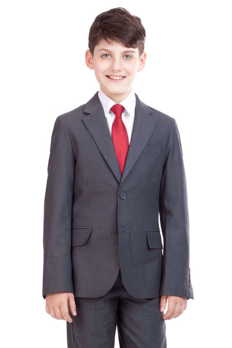 Пиджак для мальчика Gulliver, цвет: серый. 21501BSC4802. Размер 164, 13-14 лет21501BSC4802Замечательный школьный пиджак выполняет функцию главного делового атрибута ученика. Он уместен для ежедневного использования и незаменим для торжественных мероприятий. Хороший состав и качество ткани сделает длительное пребывание в пиджаке приятным и комфортным, а также обеспечит долговечность и неприхотливость в уходе. Если вы решили купить школьный пиджак для мальчика, эта модель - достойное решение.