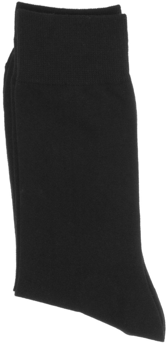 Носки мужские Griff Classic, цвет: черный. A1. Размер 42/44A1Мужские носки Griff Classic изготовлены из высококачественного сырья с добавлением полиамидных волокон, которые обеспечивают великолепную посадку. Носки отличаются элегантным внешним видом. Удобная широкая резинка идеально облегает ногу и не пережимает сосуды, усиленные пятка и мысок повышают износоустойчивость носка, а удлиненный паголенок придает более эстетичный вид.