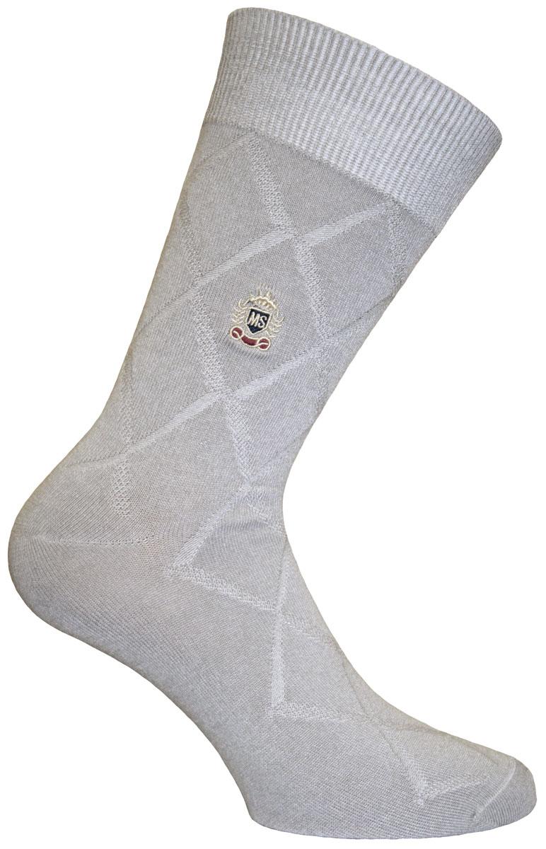 Носки мужские Master Socks Soft Bamboo, цвет: серый. 88618. Размер 2788618Удобные носки Soft Bamboo от Master Socks изготовлены из высококачественного бамбука с добавлением полиамида и эластана. Эластичная резинка плотно облегает ногу, не сдавливая ее, обеспечивая комфорт и удобство. Носки с паголенком классической длины.