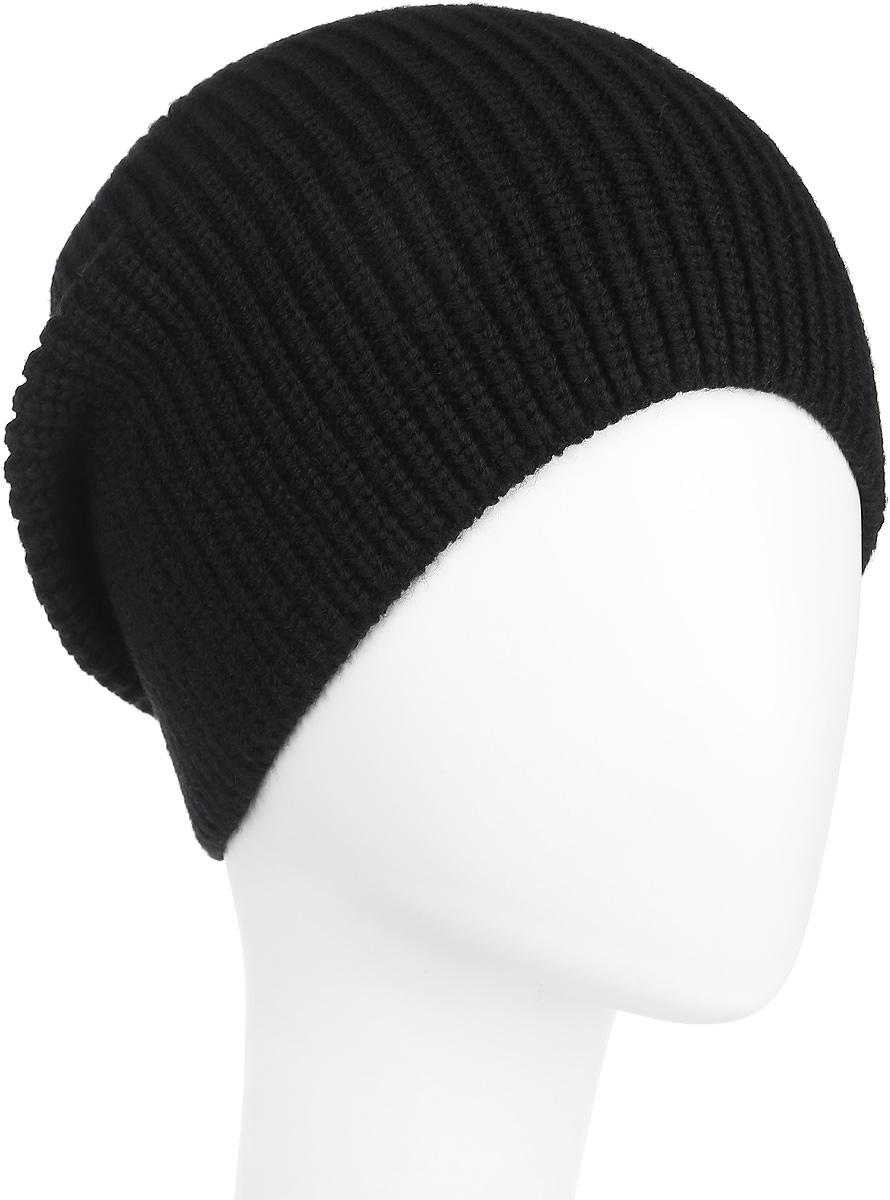 Шапка женская Flioraj, цвет: черный. 2-037-002. Размер 582-037-002Стильная женская шапка Flioraj дополнит ваш наряд и не позволит вам замерзнуть в холодное время года. Шапка выполнена из высококачественной комбинированной пряжи из шерсти и акрила, что позволяет ей великолепно сохранять тепло и обеспечивает высокую эластичность и удобство посадки. Классическая однотонная шапка связана с резинкой, она подойдет к любому наряду.Такая шапка станет модным и стильным дополнением вашего зимнего гардероба, великолепно подойдет для активного отдыха и занятия спортом. Она согреет вас и позволит вам подчеркнуть свою индивидуальность!Уважаемые клиенты!Размер, доступный для заказа, является обхватом головы.