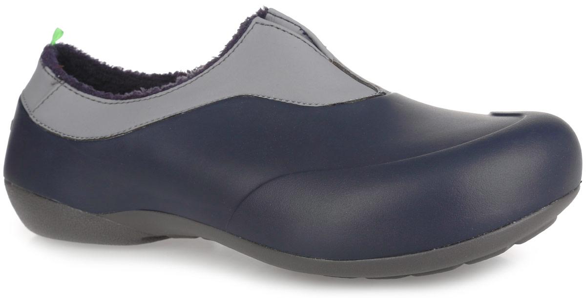 Галоши мужские Gow, цвет: темно-серый. GW-1M. Размер 41GW-1MОчень легкие галоши от Gow с закрытой пяткой и закрытым мыском, выполненные из ЭВА материала - это превосходный вид обуви. Модель имеет несъемный утеплитель удобный для одевания и снимания, который защитит ваши ноги от зябкого межсезонья.Материал ЭВА имеет пористую структуру, обладает великолепными теплоизоляционными и морозостойкими свойствами, 100% водонепроницаемостью, придает обуви амортизационные свойства, мягкость при ходьбе, устойчивость к истиранию подошвы. Рельефное основание подошвы обеспечивает уверенное сцепление с любой поверхностью.Удобные галоши прекрасно подойдут для работы в огороде, а также для носки в непогоду.