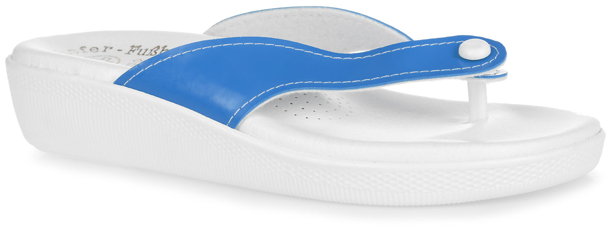 Пантолеты женские Spesita, цвет: голубой, белый. ANJI. Размер 37ANJIПантолеты от Spesita, выполненные из ПВХ - это превосходный вид обуви.Детально проработанная форма колодки и анатомическая стелька с супинатором обеспечат максимальный комфорт при носке. Подошва из материала ПВХ обладает гибкостью, износостойкостью, к тому же она не окрашивает поверхности пола (не чертит), благодаря чему данная модель идеально подходит для помещения. Рельефное основание подошвы обеспечивает уверенное сцепление с любой поверхностью.Пантолеты Spesita подарят чувство надежности и устойчивости на весь день, а также прекрасно дополнят образ.