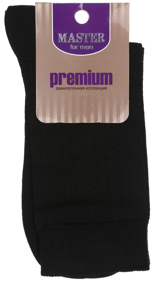 Носки мужские Master Socks, цвет: черный. 58024. Размер 2758024Удобные носки Master Socks, изготовленные из высококачественного комбинированного материала, очень мягкие и приятные на ощупь, позволяют коже дышать. Эластичная резинка плотно облегает ногу, не сдавливая ее, обеспечивая комфорт и удобство. Носки с паголенком классической длины. Практичные и комфортные носки великолепно подойдут к любой вашей обуви.