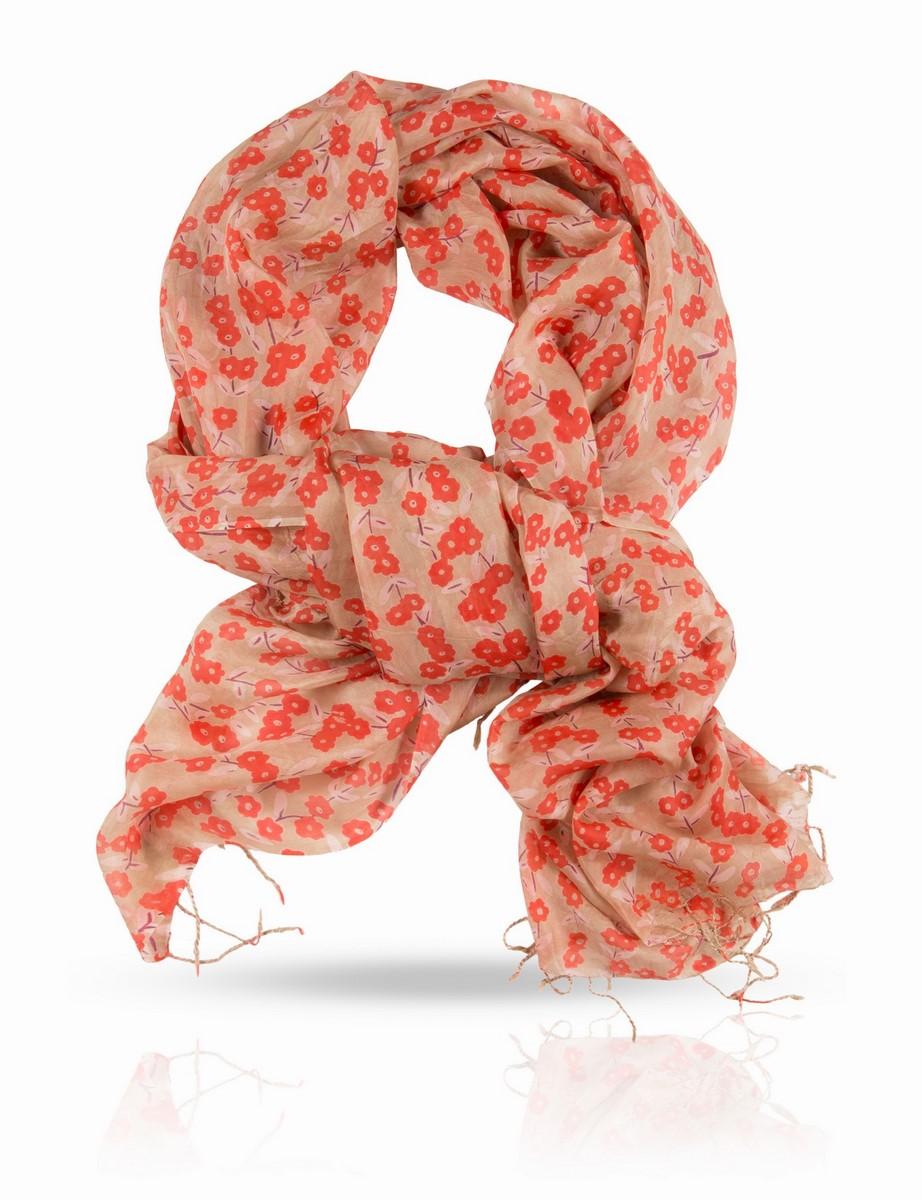 Палантин Michel Katana, цвет: розовый,бежевый,красный. S-SMALL.FL/BUTTER. Размер 110 x 180 смS-SMALL.FL/BUTTERПалантин выполнен из натурального шелка.Мелкий цветочный узор - вечная классика и незаменимый вклад в образ настоящей женщины. Michel Katana придает традиционному мотиву новое звучание, предлагая вам палантин, усыпанный цветами и мелкими листочками - нежный, радостный, бесконечно женственный. Этот принт, одновременно классический и остромодный, дает шанс примерить цветочки даже тем, кто прежде никогда их не носил. Ну, а ценителям растительных мотивов просто необходимо включить этот палантин в свою коллекцию.