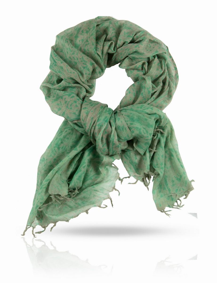 Палантин Michel Katana, цвет: зеленый, коричневый. W-WASHED/BROWN. Размер 100 x 200 смW-WASHED/BROWNРазмытый и неопределенный, полупрозрачный импрессионистский принт этого палантина идеально сочетается с фактурой тончайшей 100% шерстяной ткани. Этот аксессуар легок, как дыхание, и как дыхание, согревает вас, если вдруг налетел прохладный ветерок. Michel Katana дарит вам истинно французский подход к цвету и качеству: это деликатная роскошь, служащая рамой для вашей красоты и защитой вашей хрупкости.