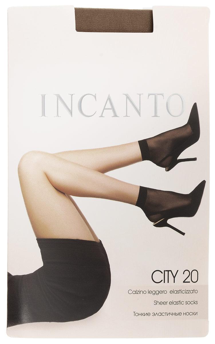 Носки женские Incanto City 20, цвет: Melon (телесный), 2 пары. 3794. Размер универсальныйCity 20Удобные женские носки Incanto City 20, изготовленные из высококачественного эластичного полиамида, идеально подойдут для повседневной носки. Входящий в состав материала полиамид обеспечивает износостойкость, а эластан позволяет носочкам легко тянуться, что делает их комфортными в носке.Эластичная резинка плотно облегает ногу, не сдавливая ее, обеспечивая комфорт и удобство и не препятствуя кровообращению. Практичные и комфортные шелковистые носки c укрепленным мыском великолепно подойдут к любой открытой обуви. В комплект входят 2 пары носков. Плотность: 20 den.