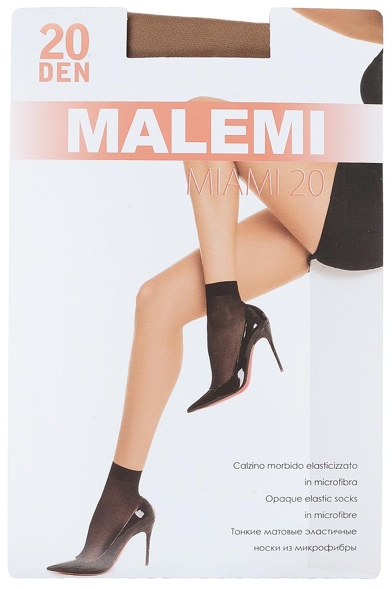 Носки женские Malemi Miami 20, цвет: Melon (телесный), 2 пары. 9064. Размер универсальныйMiami 20Удобные женские носки Malemi Miami 20, изготовленные из высококачественного эластичного полиамида, идеально подойдут для повседневной носки. Входящий в состав материала полиамид обеспечивает износостойкость, а эластан позволяет носочкам легко тянуться, что делает их комфортными в носке.Эластичная резинка плотно облегает ногу, не сдавливая ее, обеспечивая комфорт и удобство и не препятствуя кровообращению. Практичные и комфортные матовые носки великолепно подойдут к любой открытой обуви. В комплект входят 2 пары носков.Плотность 20 den.Уважаемые клиенты!Обращаем ваше внимание на возможные изменения в дизайне упаковки. Качественные характеристики товара остаются неизменными. Поставка осуществляется в зависимости от наличия на складе.