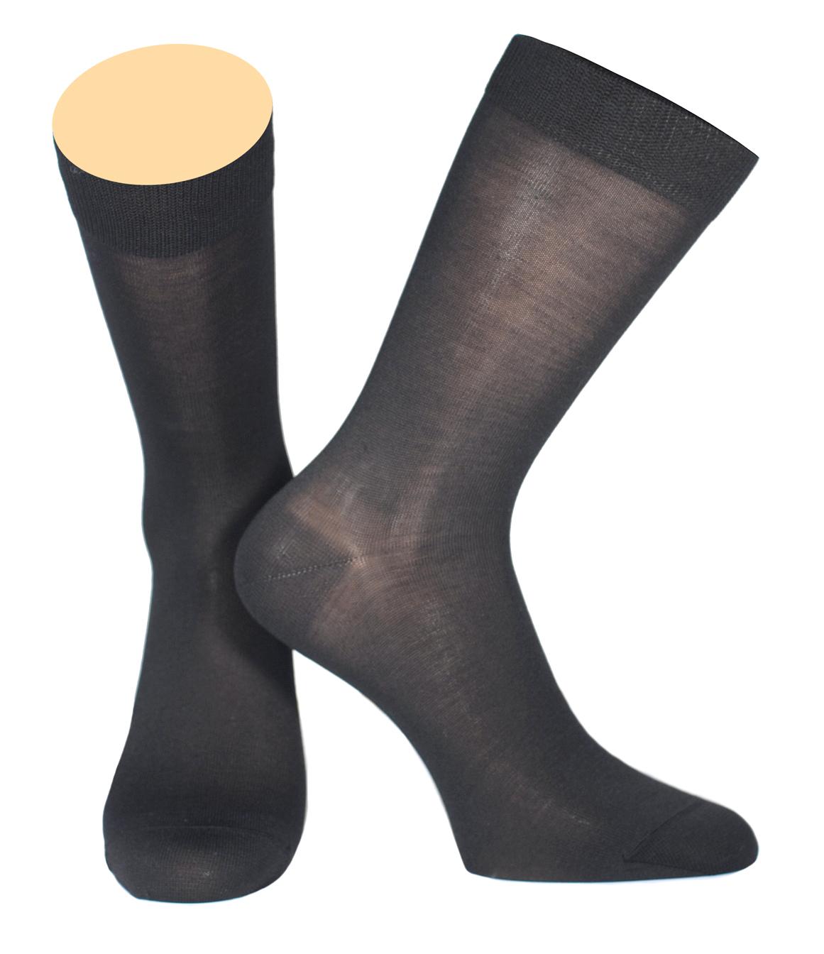 Носки мужские Collonil, цвет: темно-серый. 141/32. Размер 42-43141/32Мужские носки Collonil изготовлены из мерсеризованного хлопка.Носки с удлиненным паголенком. Широкая резинка не сдавливает и комфортно облегает ногу.