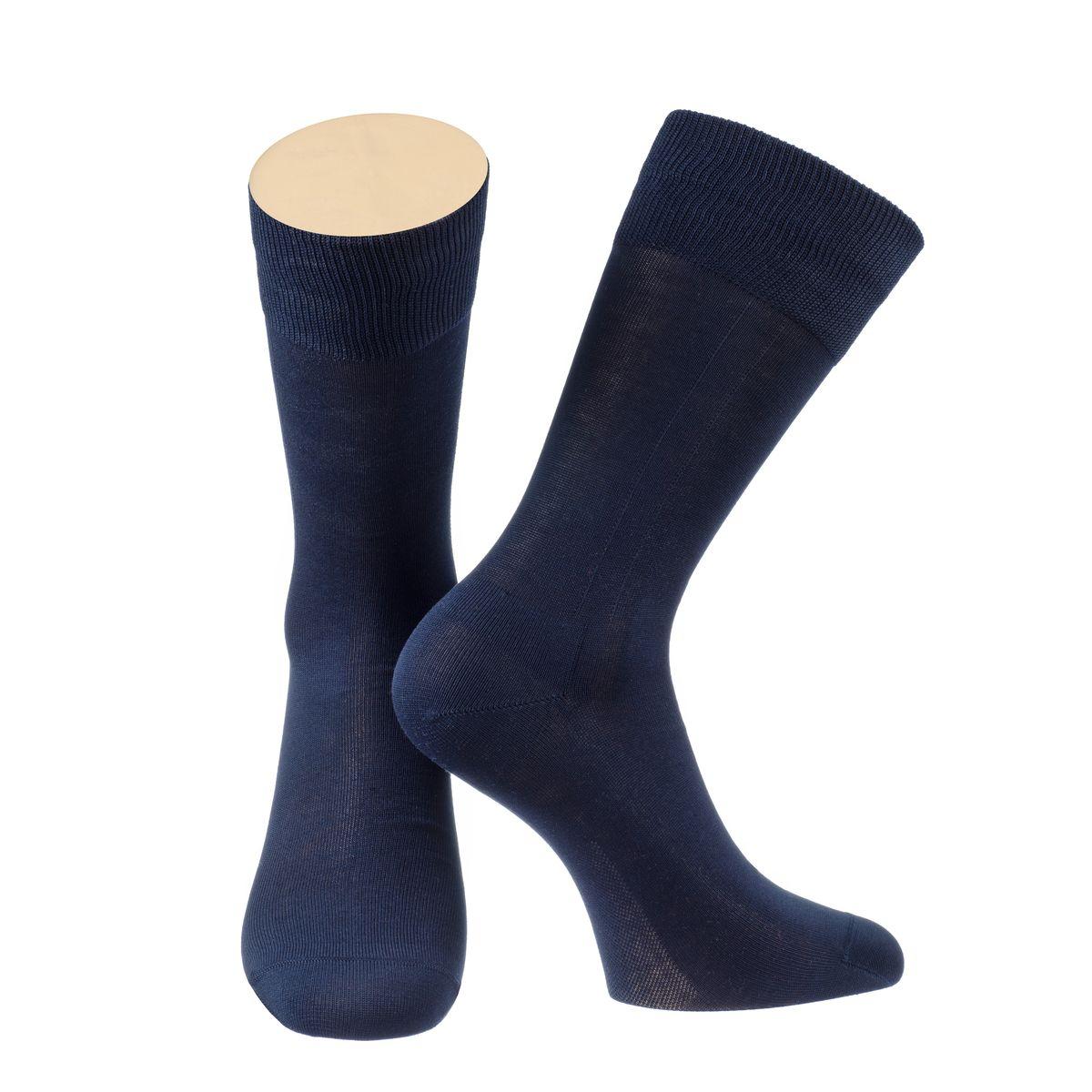 Носки мужские Collonil, цвет: темно-синий. 2-14/18. Размер 42-432-14/18Мужские носки Collonil изготовлены из мерсеризованного хлопка.Носки с удлиненным паголенком. Широкая резинка не сдавливает и комфортно облегает ногу.