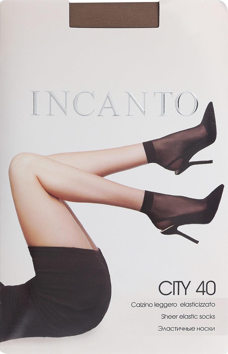 Носки женские Incanto City 40, цвет: Melon (телесный), 2 пары. 3795. Размер универсальныйCity 40Удобные женские носки Incanto City 40, изготовленные из высококачественного эластичного полиамида, идеально подойдут для повседневной носки. Входящий в состав материала полиамид обеспечивает износостойкость, а эластан позволяет носочкам легко тянуться, что делает их комфортными в носке.Эластичная резинка плотно облегает ногу, не сдавливая ее, обеспечивая комфорт и удобство и не препятствуя кровообращению. Практичные и комфортные шелковистые носки великолепно подойдут к любой открытой обуви. В комплект входят 2 пары носков. Плотность: 40 den.