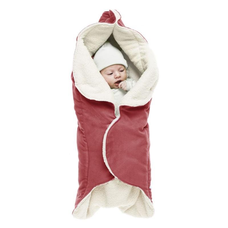 Конверт-лепесток для новорожденного Wallaboo, цвет: красный. WW.0809.1101. Размер 0месWW.0809.1101Конверт-лепесток для новорожденного Wallaboo выполнен из высококачественной искусственной замши иимеет подкладку из искусственного меха на основе полиэстера. Наполнитель - синтепон. Он подойдет для малышей с самого рождения. Конверт легко раскладывается, благодаря чему его можно использовать в качестве одеяла или даже коврика для игр.Верхняя часть конверта бережно обхватывает голову малыша и надежно сохраняет тепло. В нижней части конверта располагается кармашек для ног. Липучки и кнопки позволяют быстро зафиксировать конверт и обеспечивают надежное облегание, которое не ограничивает движения малыша и подарит ему чувство комфорта и защищенности. Такой конверт подойдет для большинства колясок и детских сидений.