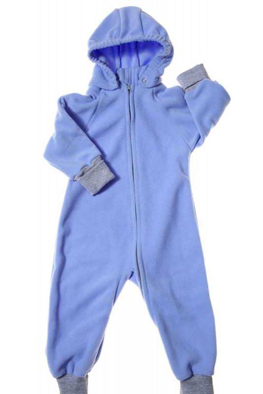 Комбинезон детский Mums Era Comfort, цвет: лазурь. 35219. Размер 68-7435219Универсальный детский комбинезон теплый и уютный. Капюшон на кнопках. Модель застегивается на молнию. Манжеты выполнены из трикотажа.