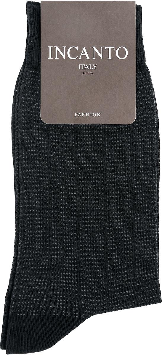 Носки мужские Incanto Fashion, цвет: Nero (черный). BU733037. Размер 3 (42/43)BU733037Мужские носки Incanto Fashion изготовлены из хлопка с добавлением полиамида. Материал тактильно приятный, хорошо пропускает воздух.Носки дополнены комфортной эластичной резинкой. Усиленные пятка и мысок обеспечивают надежность и долговечность. Оформлено изделие принтом в клетку.Удобные и прочные носки станут отличным дополнением к вашему гардеробу!