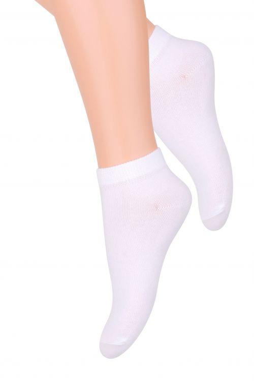 Носки детские Steven, цвет: белый. 004 (RD39). Размер 35/37, 10-12 лет004 (RD39)Хлопковые детские носки Steven отлично подойдут для повседневной носки.Они изготовлены из высококачественного материала, очень мягкие на ощупь, не раздражают даже самую нежную и чувствительную кожу.Такие носки послужат замечательным дополнением к детскому гардеробу!