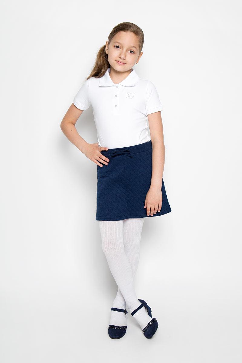 Юбка для девочки S'cool, цвет: темно-синий. 364028. Размер 164, 14 лет