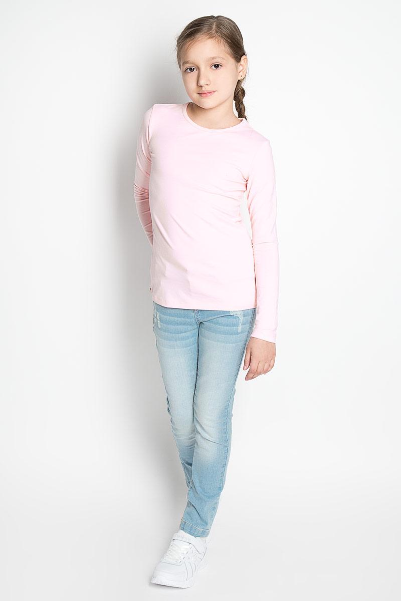 Лонгслив для девочки Scool, цвет: розовый, серый меланж, 2 шт. 354046. Размер 158, 13 лет354046Лонгслив для девочки Scool идеально подойдет юной моднице. Изделие выполнено из эластичного хлопка, мягкое и приятное на ощупь, не сковывает движения и позволяет коже дышать, не раздражает нежную и чувствительную кожу ребенка.Модель имеет круглый вырез горловины, оформленный мягкой бейкой. Лонгслив станет отличным дополнением к детскому гардеробу, ребенку в нем будет удобно и комфортно! В комплект входит два однотонных лонгслива разной расцветки.