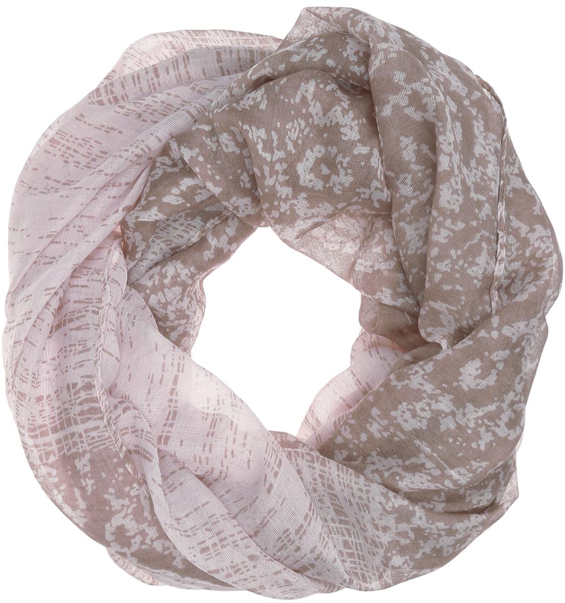 Палантин женский Labbra, цвет: бледно-розовый, бежевый. LDB31-619. Размер 90 см х 180 смLDB31-619Элегантный палантин Labbra станет достойным завершением вашего образа.Палантин изготовлен из вискозы. Модель оформлена оригинальным абстрактным принтом. Палантин красиво драпируется, он превосходно дополнит любой наряд и подчеркнет ваш изысканный вкус.Легкий и изящный палантин привнесет в ваш образ утонченность и шарм.