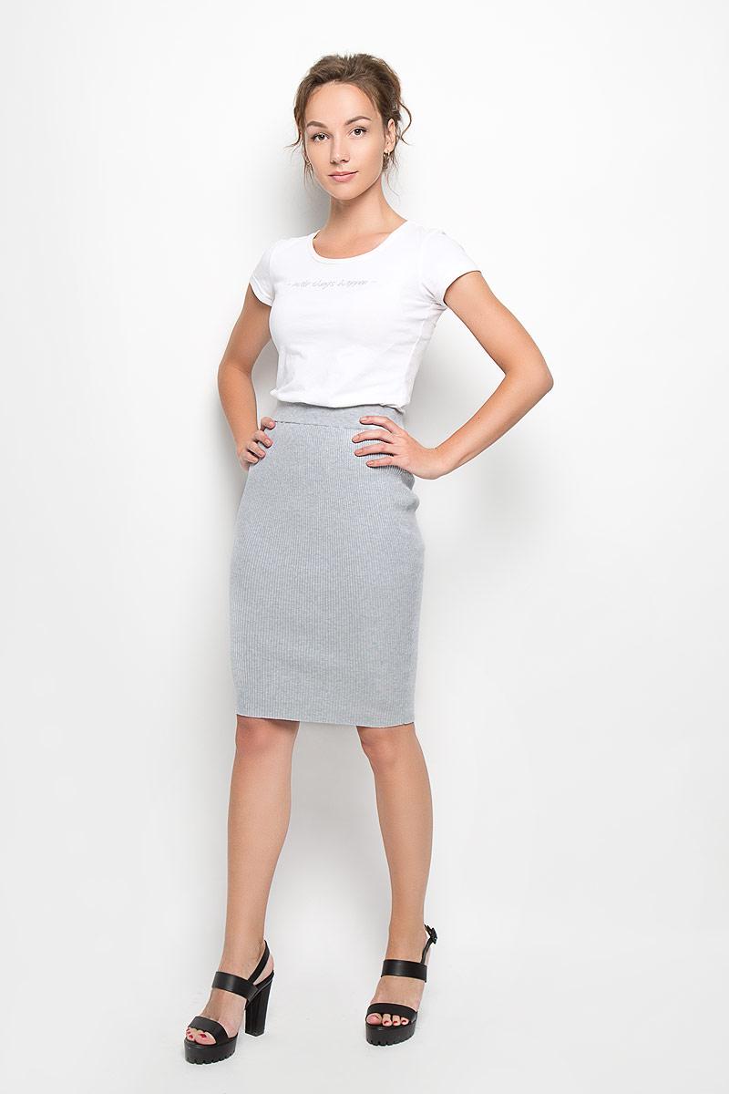 Юбка Glamorous, цвет: серый меланж. KA4592 Grey Marl. Размер XS (42)KA4592 Grey MarlСтильная трикотажная юбка Glamorous, изготовленная из высококачественных материалов, очень мягкая на ощупь, несковывает движения, обеспечивая наибольший комфорт. Модная юбка-карандаш выгодно подчеркнет все достоинства вашей фигуры. Эта великолепная юбка станет отличным дополнением к вашему гардеробу!
