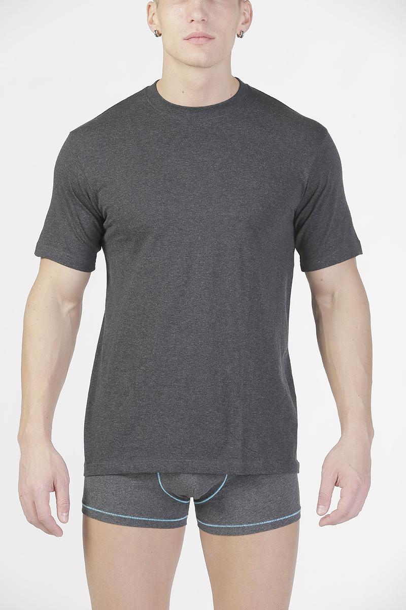 Футболка мужская Torro, цвет: темно-серый. TMF835R. Размер XL-B (52B)TMF835RМужская футболка Torro, изготовленная из натурального хлопка,мягкая и приятная на ощупь, не сковывает движения, обеспечивая наибольшийкомфорт.Модель с короткими рукавами и круглым вырезом горловины.Эта футболка - практичная вещь, которая, несомненно, впишется в ваш гардероб, вней вы будете чувствовать себя уютно и комфортно.