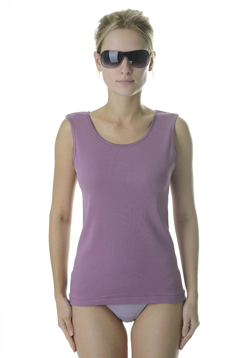 Майка женская Vis-A-Vis, цвет: сиреневый. LM1006. Размер L (48)