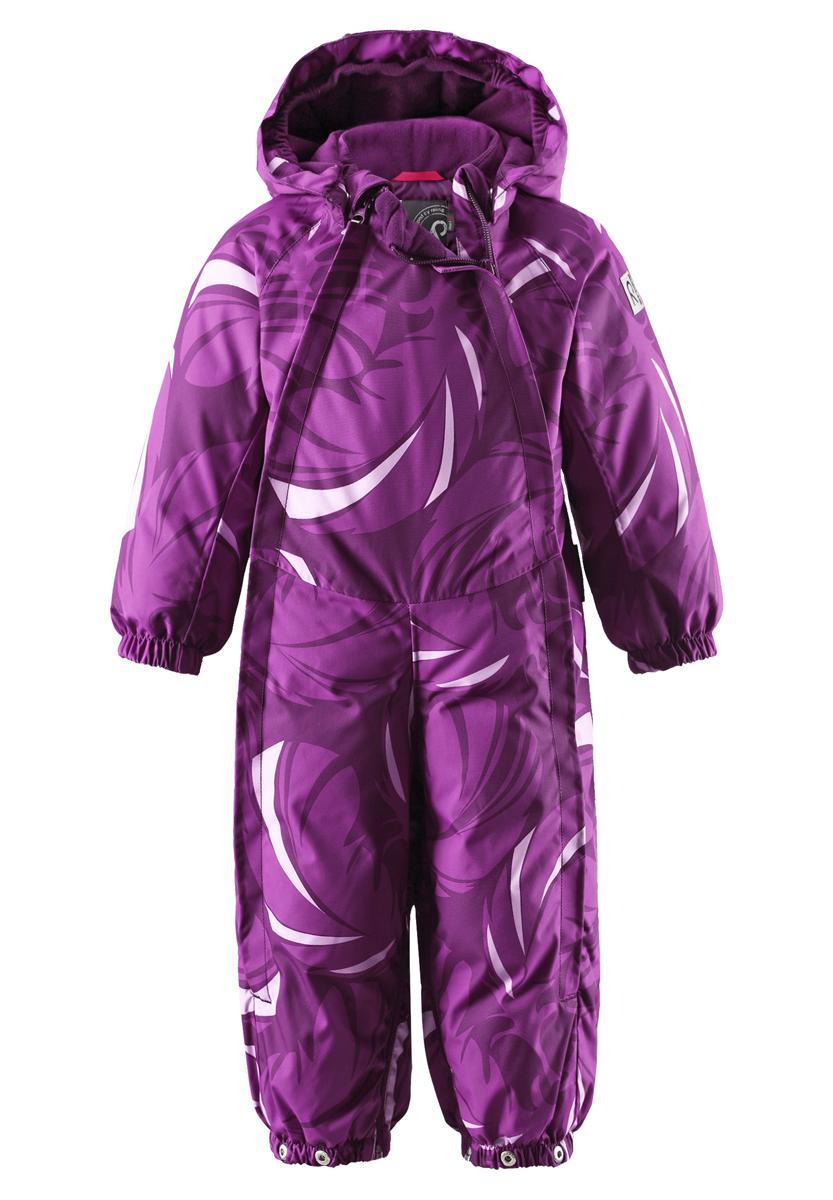 Комбинезон-трансформер детский Reima Reimatec+ Pouch, цвет: темно-лиловый. 510223-4903. Размер 62