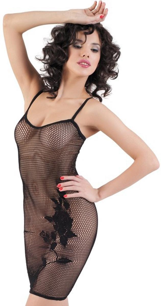 Платье гоу-гоу Erolanta Net Magic, цвет: черный. 940006. Размер S/L (42-46) skygate net в донецке